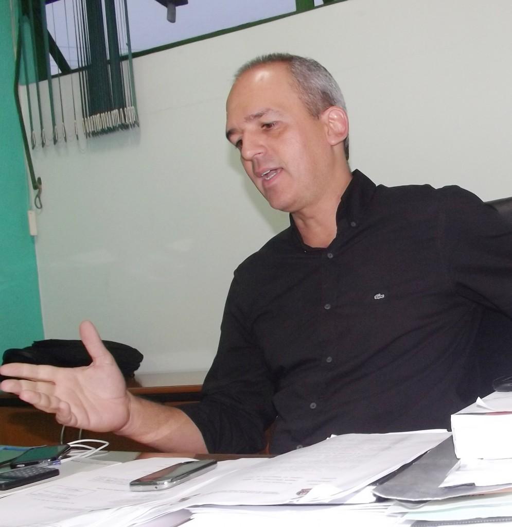 O ex-presidente Luiz Fernando, que move ação de danos morais contra atual gestora do Clube, esclarece acordo sobre dívida com a Prefeitura. (Foto: Da Redação/Atos)