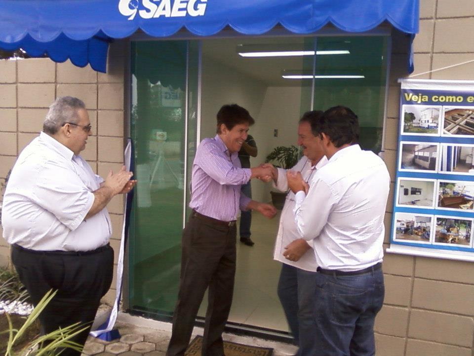 Francisco Carlos e o ex-diretor do Saeg, foco de denúncias na autarquia (Foto: Reprodução)