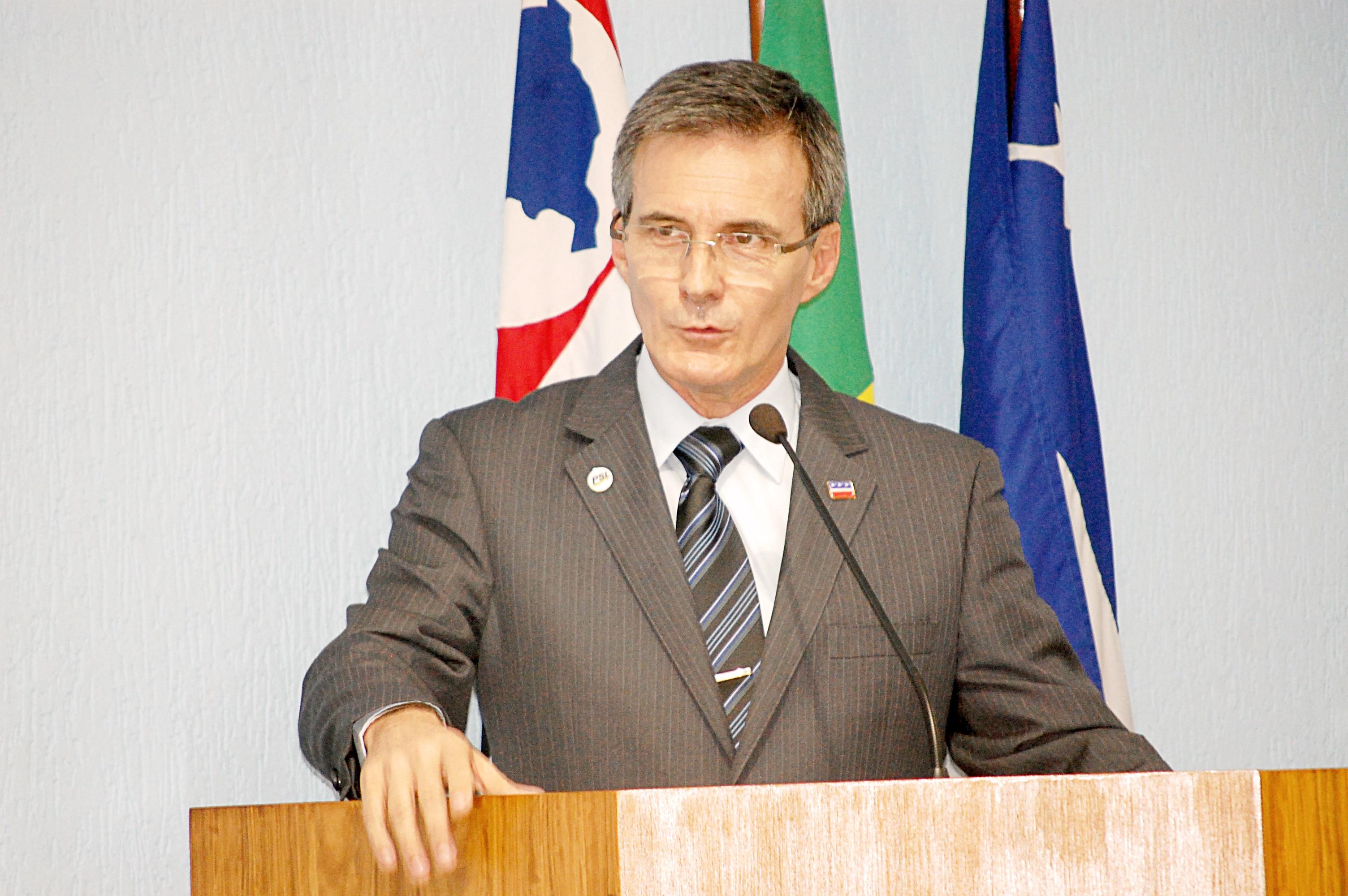 O vereador de oposição, Marcus Soliva, que cobrou abertura dos gastos de autarquias de Guará (Foto: Arquivo Atos)