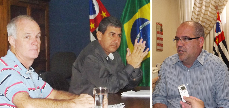 Adilton e Marcelo Picão, parte da base que garantiu vitória de João Luiz (à direita) contra pedido de processante (Arquivo Atos)