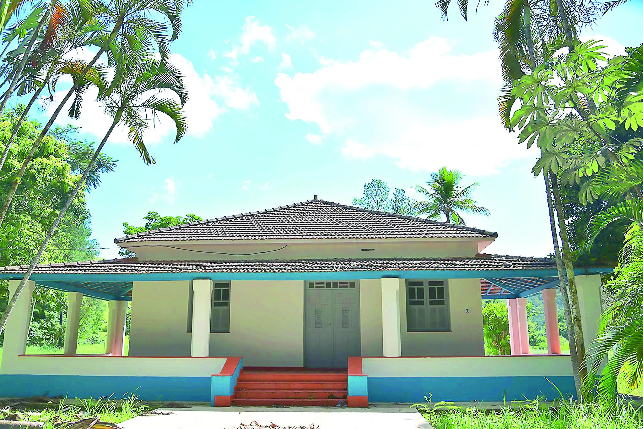 A antiga sede da fazenda do DAEE, que passou por completa reforma pela prefeitura e que funcionará como centro educacional (Assessoria)