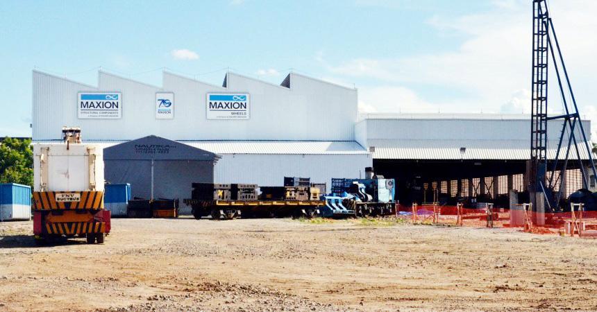 Área interna da Maxion; empresa virou foco da crise em Cruzeiro após demissões em massa no último ano (Assessoria)