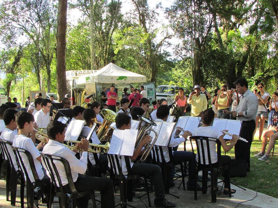 """Músicos se apresentam no """"Pinda em Cena"""" (Foto: Divulgação)"""