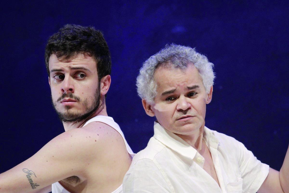 O ator Gero Camilo (à esquerda) é um dos destaques da peça, com apresentação neste final de semana (Foto: Divulgação)