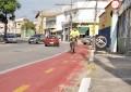 Ciclofaixa entra em fase final no Santa Edwiges, em Lorena