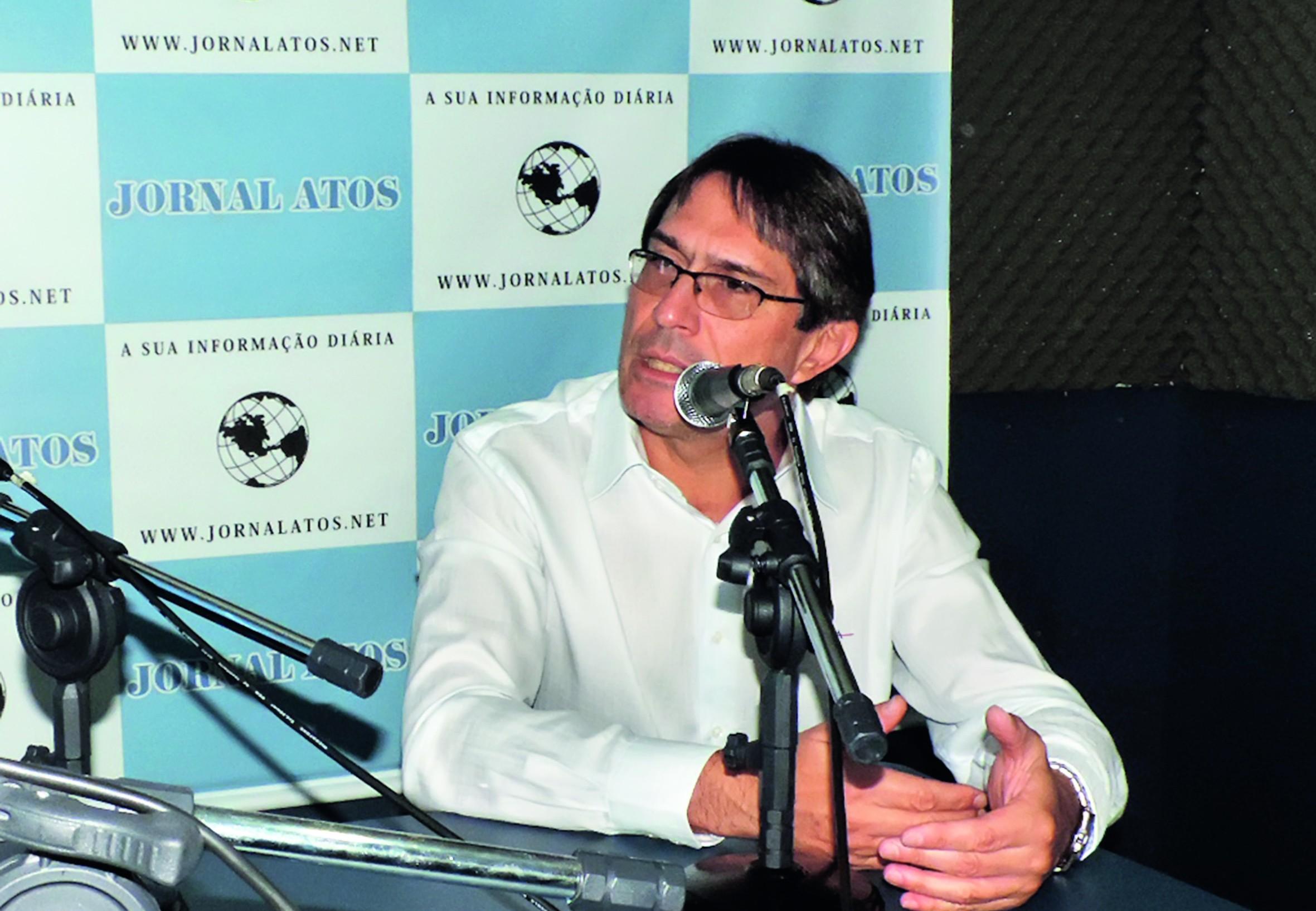 O prefeito Fábio Marcondes, que contou sobre projetos para o segundo mandato em 2017 (Foto: