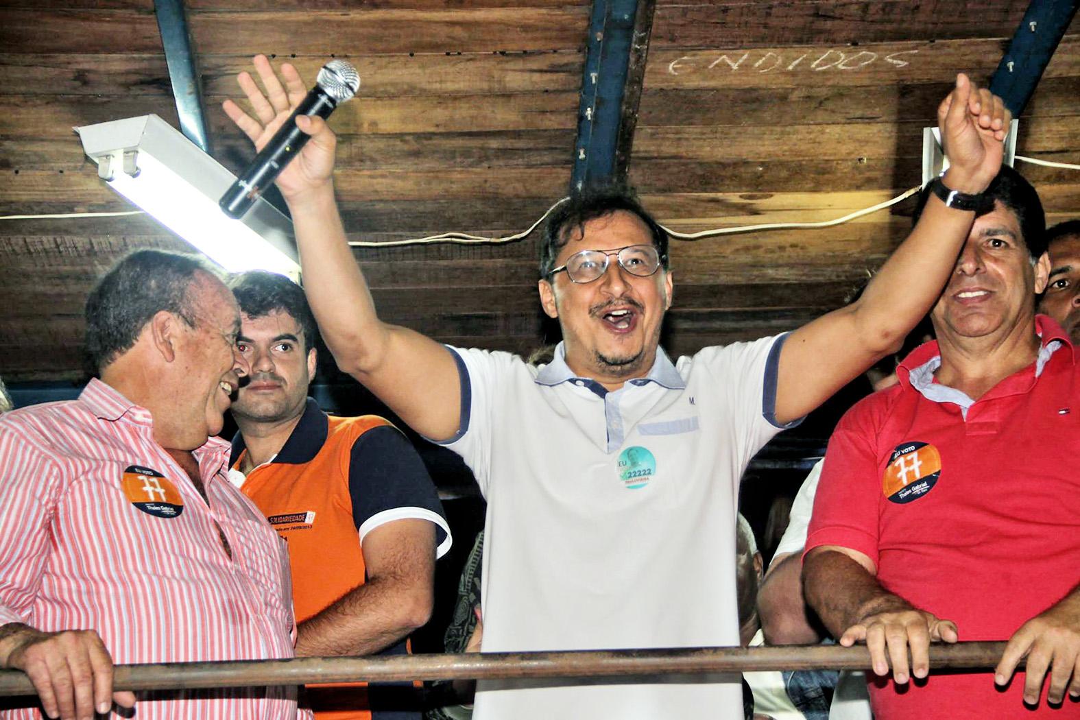 Paulo Vieira, o vereador mais votado em Cruzeiro; Câmara renovada (Foto: Reprodução)