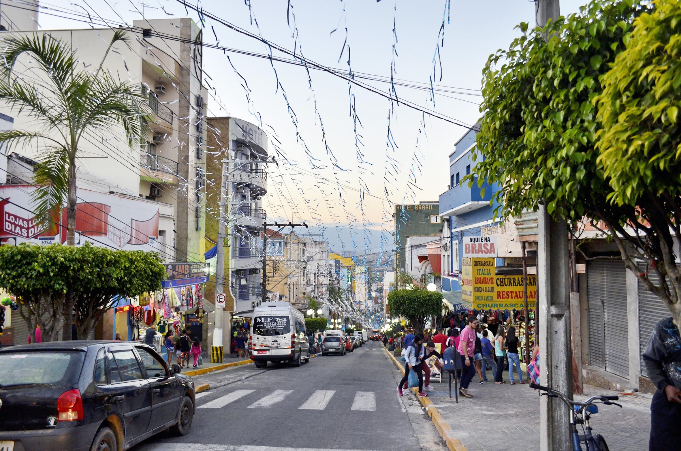 Região central de Aparecida; com rombo de R$ 14 milhões, cidade tenta alavancar arrecadação em 2017 (Foto: Arquivo Atos)