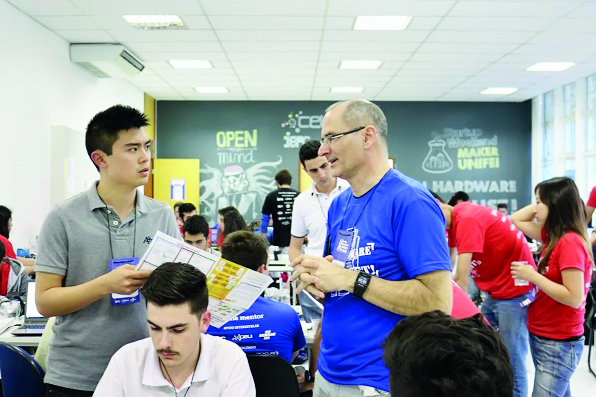 Startup Weekend, em Itajubá-MG; proposta é incentivar novos empreendedores e buscar ideias inovadoras (Foto: Divulgação)