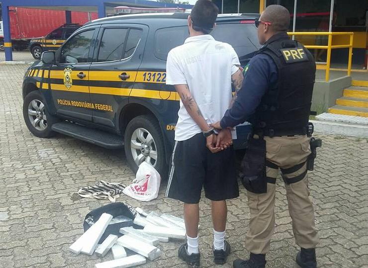 Polícia prende traficante que usava irmão paraplégico para evitar abordagem
