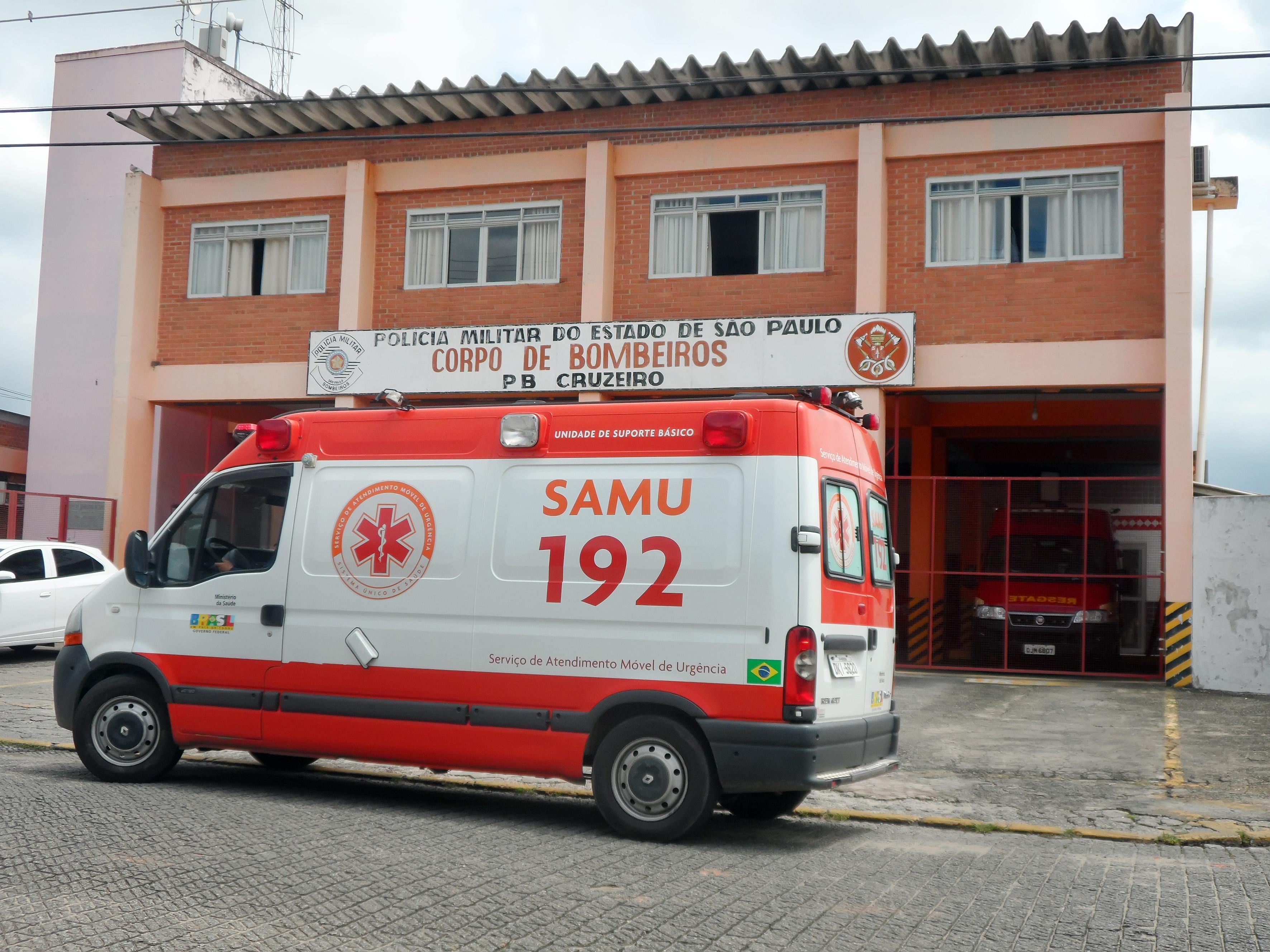 Atual sede do Corpo de Bombeiros em Cruzeiro; cidade passa a ter tarifa para auxiliar coorporação (Foto: Maria Fernanda Rezende)
