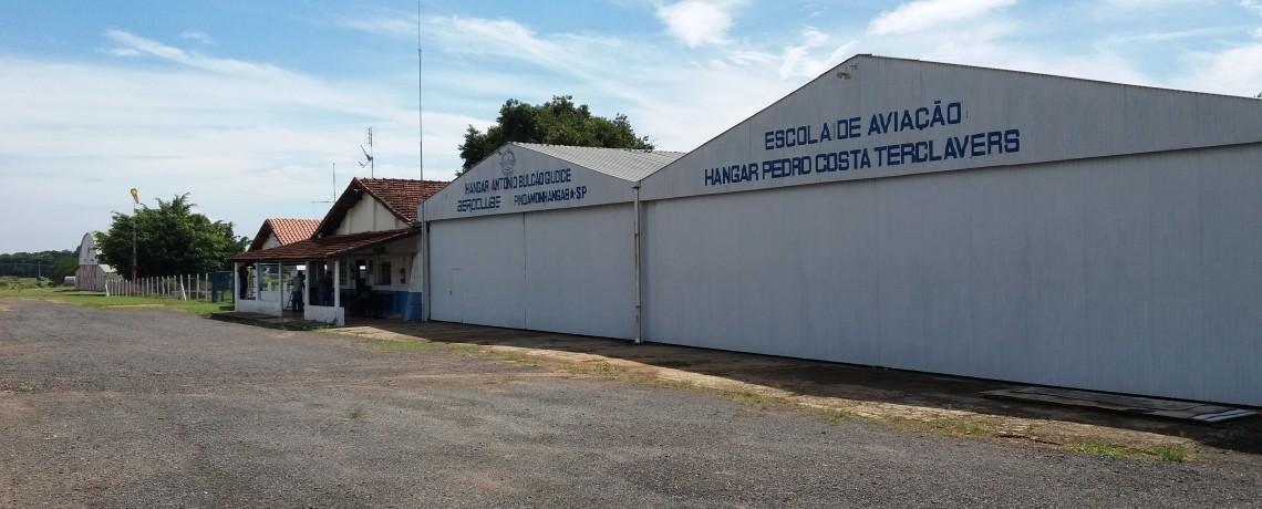 Assinatura de convênio barra fechamento de aeródromo de Pinda