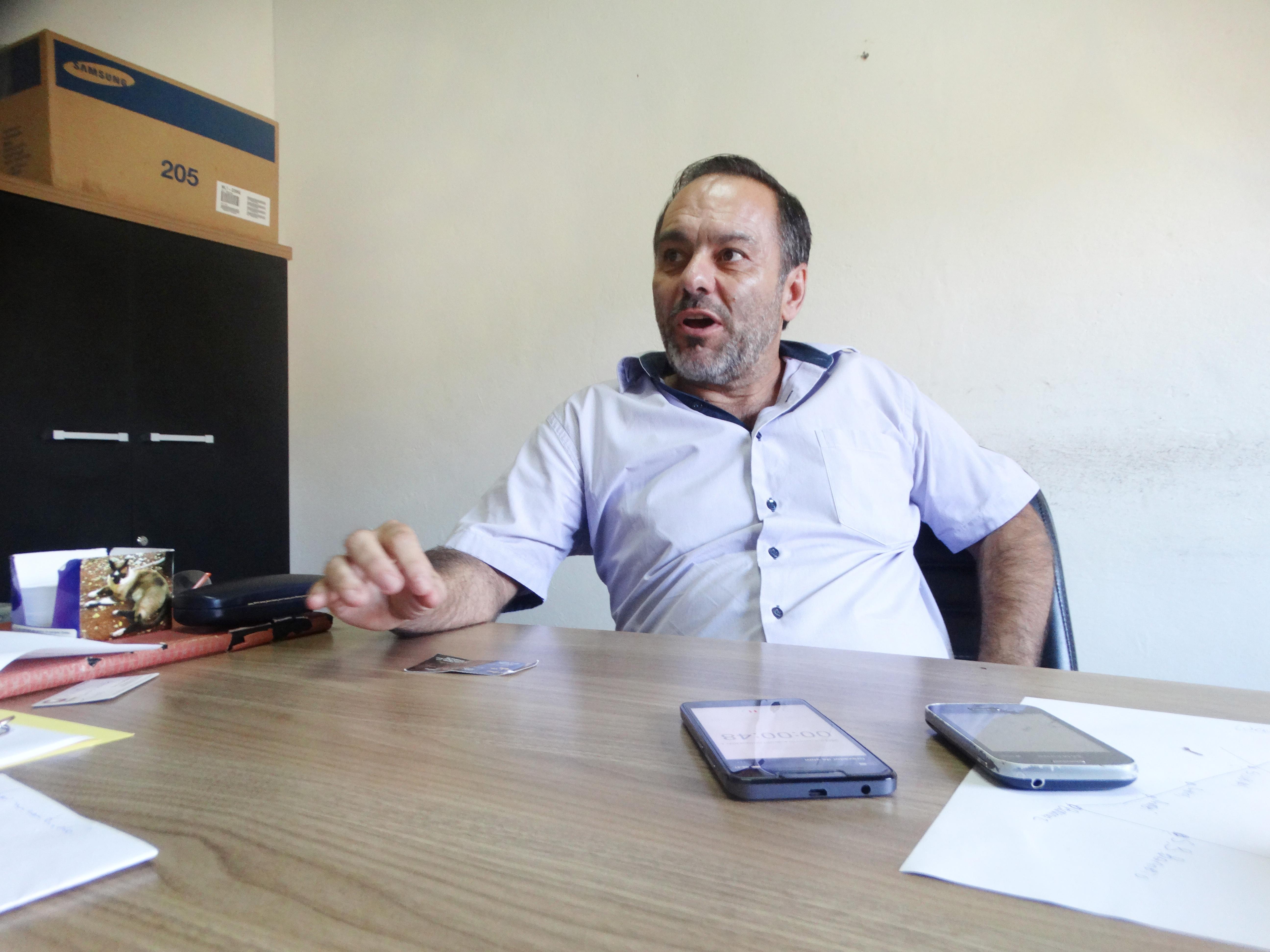 O prefeito de Silveiras, Guilherme Carvalho, que acumula dificuldades financeiras herdadas de antecessor (Foto: Arquivo Atos)