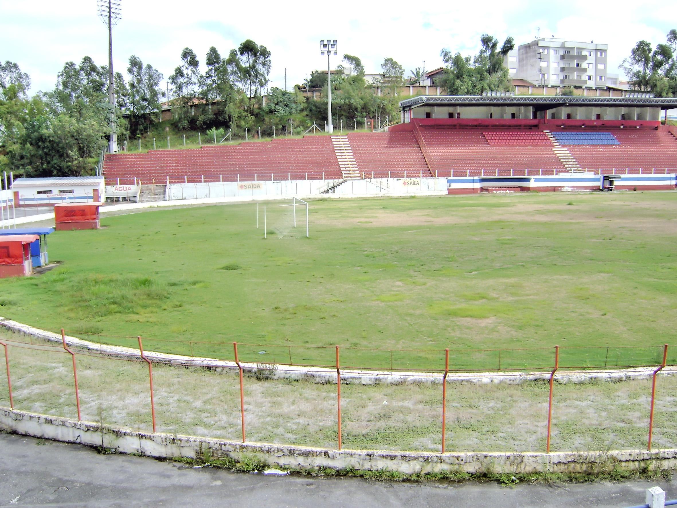 O estádio Dario Rodrigues Leite, que ganhou mais um capítulo na novela da temporada 2017; ex-casa da Garça, agora deve receber a Águia (Arquivo Atos)