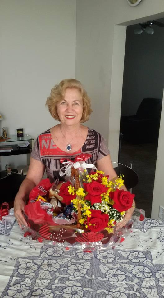 A professora Maria Solange Baldotto, que faleceu na última sexta-feira (Foto: Reprodução Facobook)