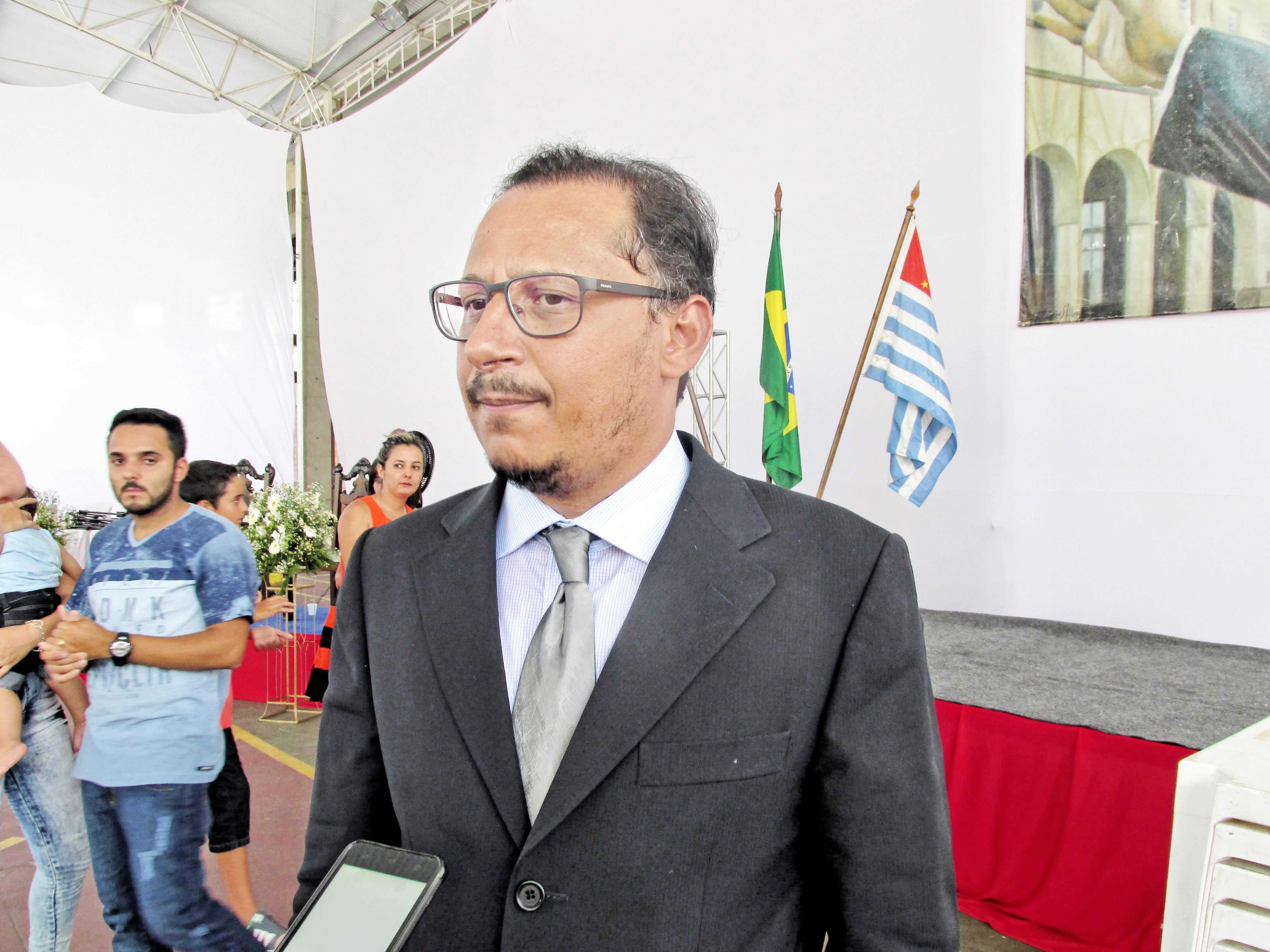 O vereador Paulo Vieira, autor de polêmico projeto sobre contratações (Foto: Arquivos Atos)