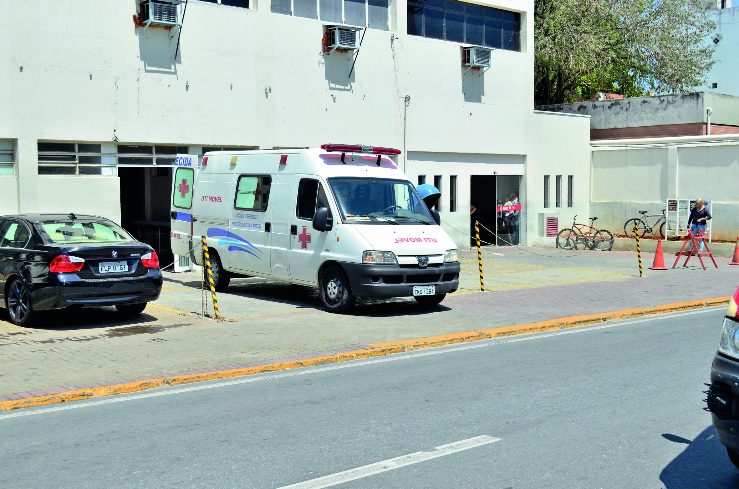 A Santa Casa de Aparecida confirmou demissões de funcionários em meio às dificuldades no atendimento com crise financeira (Foto: Arquivo Atos)