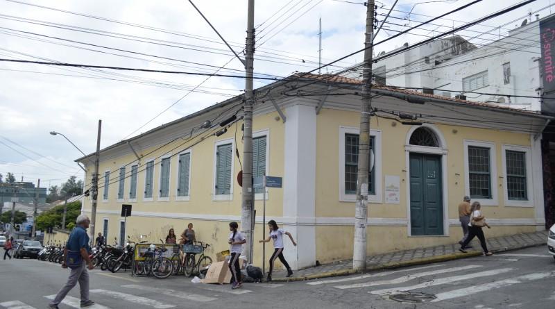 O museu Rodrigues Alves, que deve ser reaberto após a assinatura de carta de intenção em Guaratinguetá (Foto: Arquivo Atos)