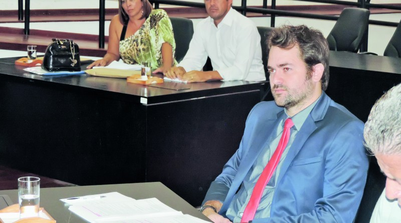 Vereador Rafael Goffi a frente do projeto para criação do orçamento impositivo (Foto: Arquivo Atos)