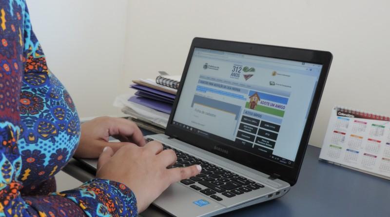 Busca por cadastro online cresce no sire da Prefeitura de Pinda (Foto: Divulgação)