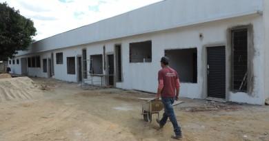 Construção de creche municipal no Cidade Industrial; Prefeitura deve entregar unidades até dezembro (Foto: Arquivo Atos)