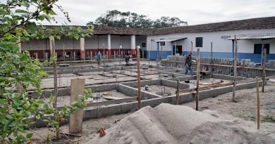 Obra para construção do centro para proteção de animais em Pindamonhangaba; cidade investe quase R$ 600 mil para implantar serviço (Foto: Divulgação)