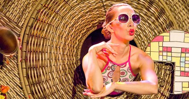 Apresentação durante edição 2015 do Festival Nacional do Teatro, de Pinda; evento volta a reunir artistas de todo país para décima edição (Foto: Luís Cláudio)