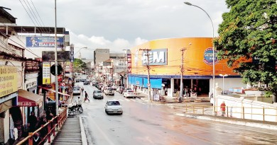Avenida de Pinda que deve receber troca de sistema de iluminação; cidade investe para reforçar segurança (Foto: Arquivo Atos)