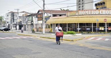 Região entre os bairros Pedregulho e Vila Paraíba, que tem recebido solicitação de reforço policial; PM amplia ações de monitoramento (Foto: Leandro Oliveira)