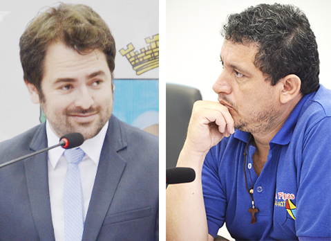 Rafael Goffi e Ronaldo Pipas