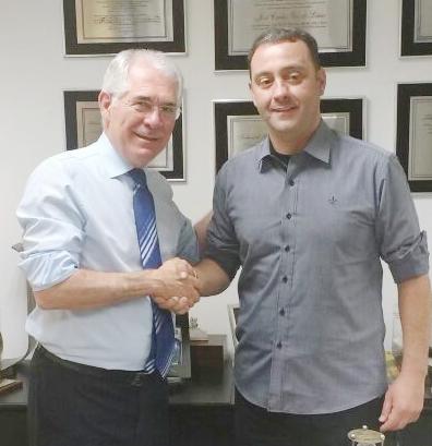 Deputado Vaz de Lima e Renato Marton