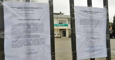 A Unimed de Cruzeiro lacrada na última semana; cerca de 12 mil pacientes estão sem convênio (Foto: Colaboração Mix Vale)