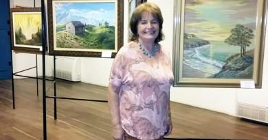 Carmen Delpino expõe seu acervo particular no Museu Major Novais (Foto: Divulgação PMC)