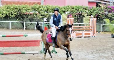 Cavaleiro participa de prova no Centro Hipico Italiano; Lorena tem nova competição no próximo dia 11 (Foto: Reprodução)