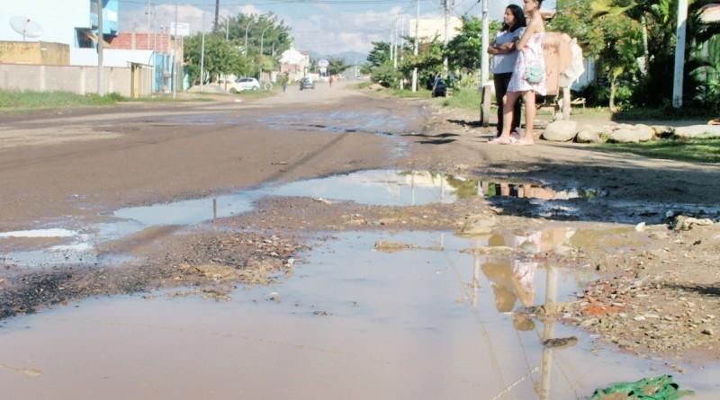 Ruas sem asfaltamento mostram necessidade de obras de infraestrutura no Jardim do Vale 2; Câmara aprova investimento de R$ 5 milhões (Foto: Arquivo Atos)