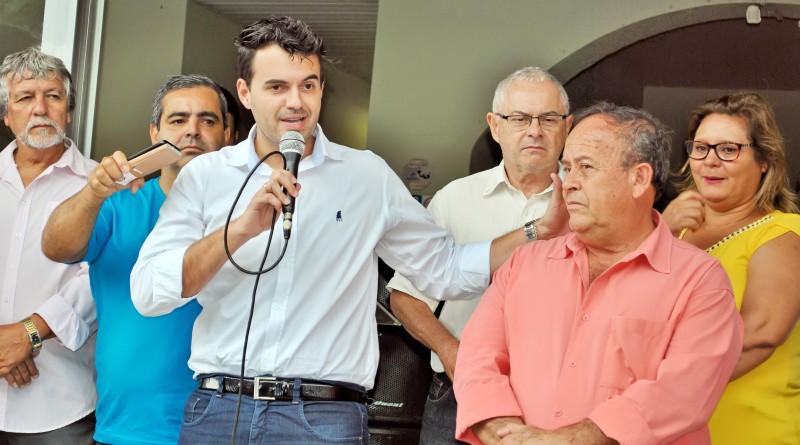 O prefeito Thales Gabriel, que implantou sistema para contribuintes (Foto: Arquivo Atos)