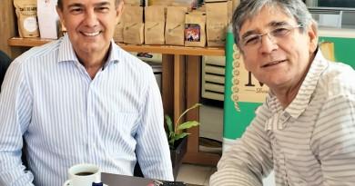 Sylvio Balerini e João Bosco Romeiro