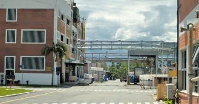 Área interna da unidade da Basf em Guaratinguetá; empresa terá ampliação programada (Foto: Arquivo Atos)