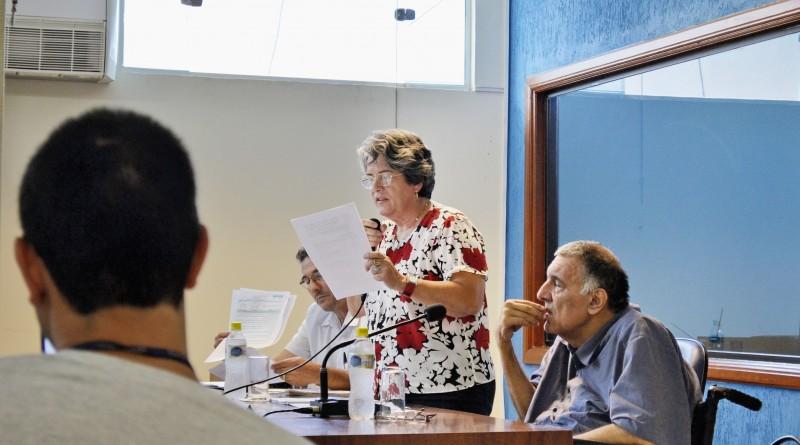 """Vereadora Ana Alice, que denunciou projeto """"aprovado sem votação"""" (Foto: Leandro Oliveira)"""