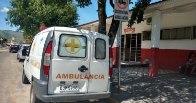 Ambulância utilizada nos atendimento de Potim; cidade retoma transporte de pacientes para hospitais de referência (Foto: Arquivo Atos)