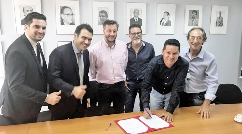 Edgar, Fabiano Vieira, João Cury, Dimas da Santa Casa, Nenê do São João e Vica