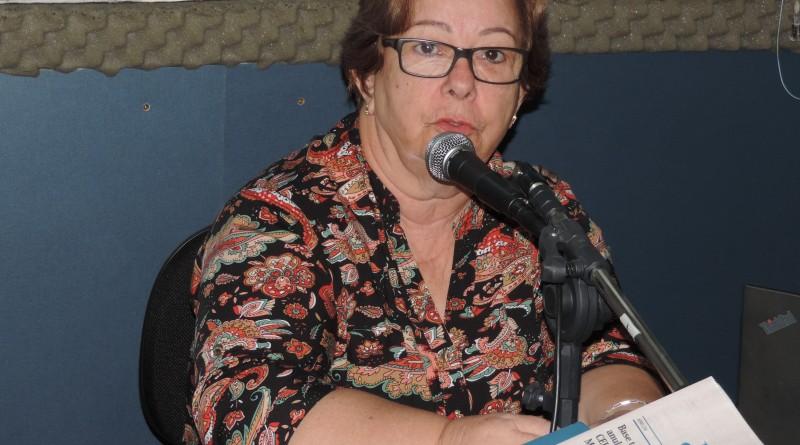 A prefeita Teca Gouvêa, que enfrenta CIP aberta na última semana (Foto: Arquivo Atos)