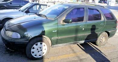 Carro utilizado por acusado e que virou prova em inquérito por assédio (Foto: Divulgação Policial Civil)