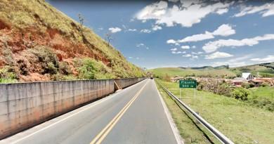 A estrada que liga Piquete à região do Sul de Minas Gerais que será interditada por quatro meses; Prefeitura tenta reverter decisão (Foto: Divulgação)