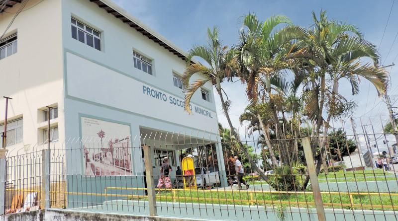 O Pronto Socorro de Pindamonhangaba que terá nova gestão (Foto: Lucas Barbosa)