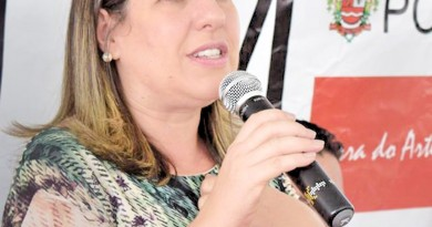 A prefeita Erica Soler corre agora para implantar PDV e contratar OS (Foto: Arquivo Atos)