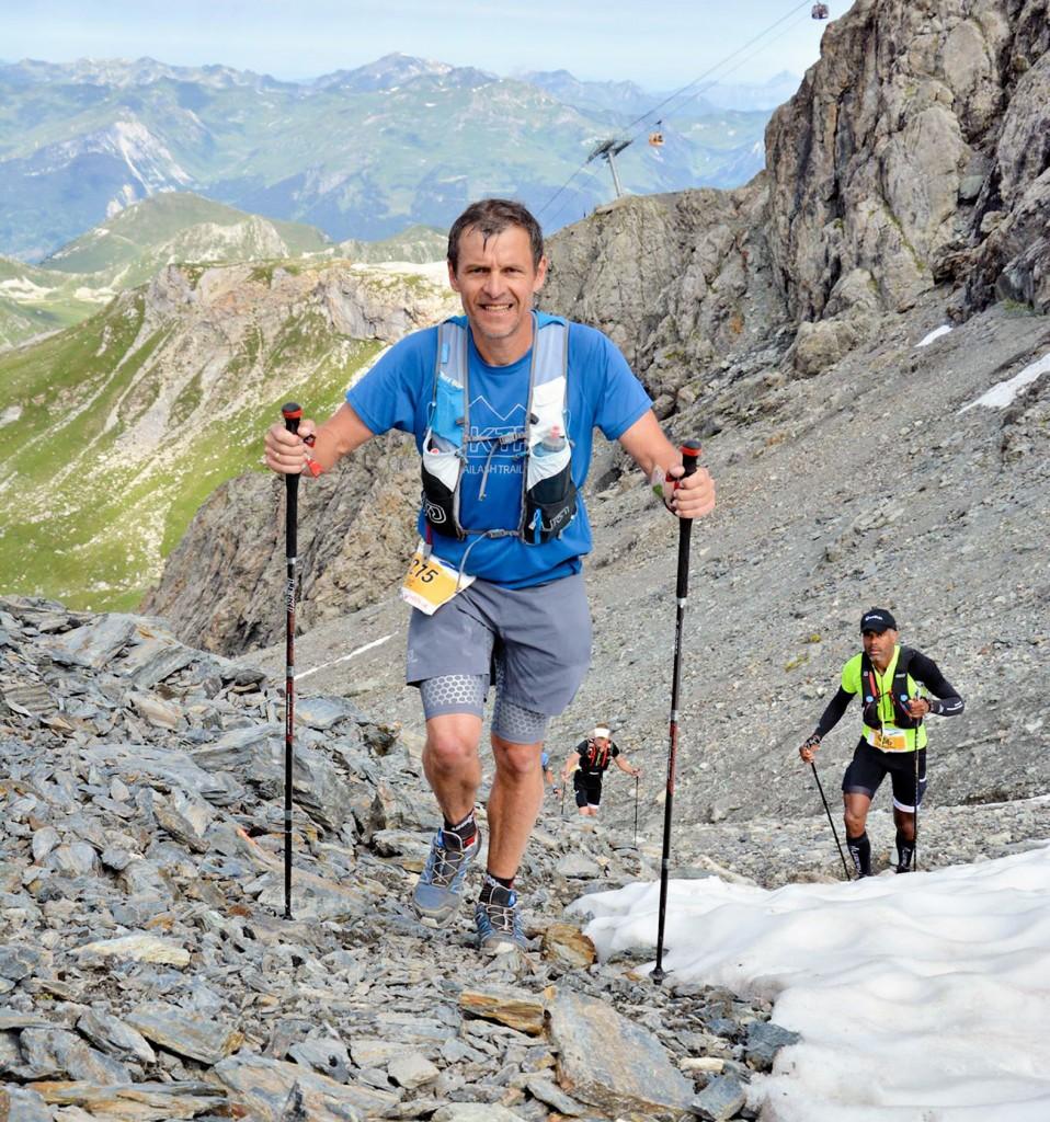 O francês Eric Welterlin, que se perdeu em trilha no Pico dos Marins (Foto: Reprodução)