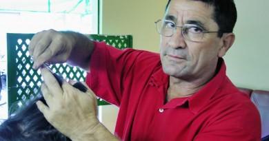 Ex-vereador e cabeleireiro; Josias Diniz foi sepultado nesta sexta (Foto: Reprodução)