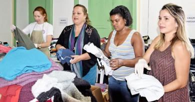 Em 2017, a campanha em Lorena registrou bom número de material arrecadado em dois meses; para 2018, a cidade ampliou pontos de doações (Foto: Arquivo Atos)