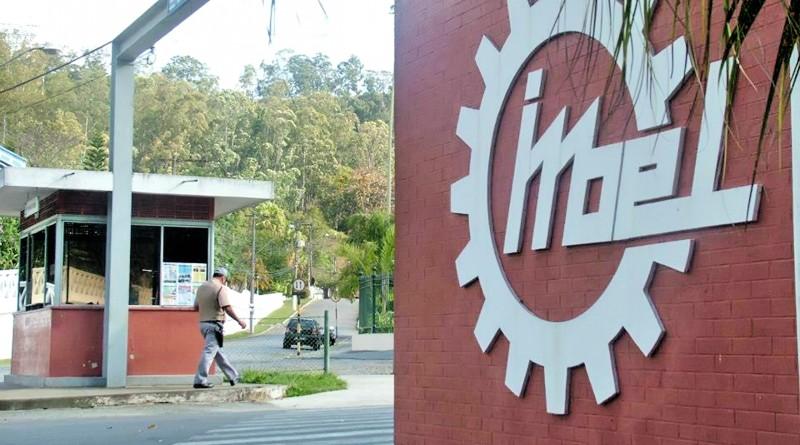 Entrada da Imbel, que fechou parceria com a Prefeitura para a disponibilização de prédios de Piquete (Foto: Arquivo Atos)